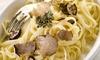 La Cantina - Berlin: Italienisches 3-Gänge-Menü mit Linguine und frischen Trüffeln für 2 oder 4 Personen im La Cantina (48% sparen*)