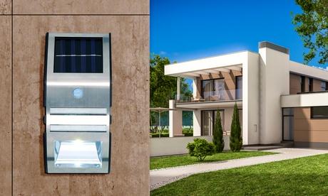 Aplique solar de pared Grundig con detector de movimiento