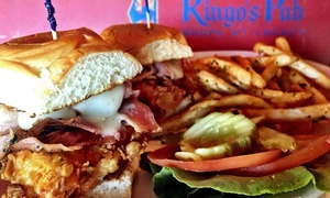 Ringo's Pub : Lunch or Dinner for Two at Ringo's Pub (40% Off)