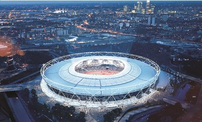 image for London Stadium Tour: Home of London 2012, and West Ham (up to 15% off)