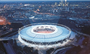 London Stadium Tours: London Stadium Tour: Home of London 2012, and West Ham (up to 15% off)