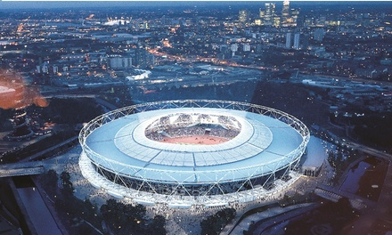 London Stadium Tour: Home of London 2012 (up to 15% off)