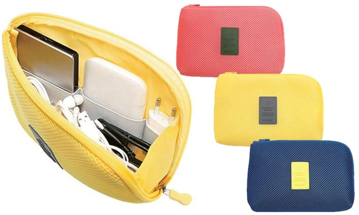 Up to Three Cable and Gadget Organisers