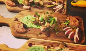Caribou Gourmand: A Four-Course Culinary Experience for Two or Four at the Caribou Gourmand (Up to 48% Off)
