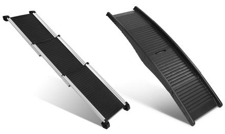 Portable Folding Dog Pet Ramp for Car: Plastic 1.5m Ramp $59 or Aluminium 1.6m Ramp $99