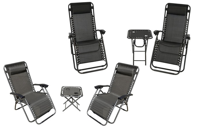 67 Off on Chairs and Table Set 3Pc Groupon Goods