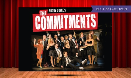 The Commitments at New Theatre Oxford on 9-14 January (Up to 50% Off)