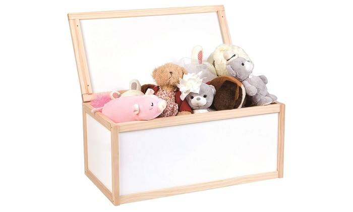 Lelin Wooden Storage Box for Toys (£22.99)