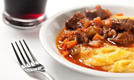 Credenza Con Tagliere : O calici di vino con tagliere salumi e formaggi polenta
