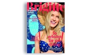 King Media GmbH: 4 Monate BRIGITTE im Abo lesen + 25 € BestChoice Gutschein erhalten