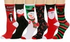 Treat Your Toes This Christmas Women's Socks (6-Pack): Treat Your Toes This Christmas Women's Socks (6-Pack)