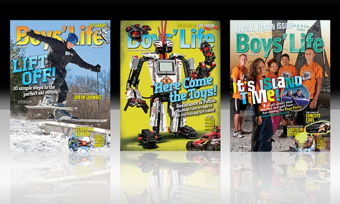 Boys' Life Magazine: 1-Year Subscription to Boys' Life Magazine