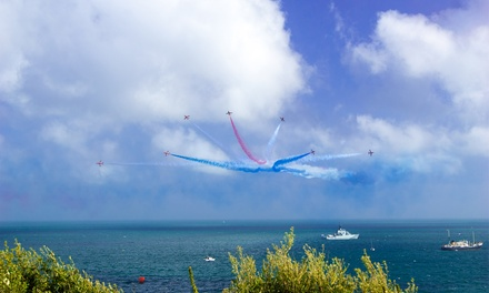 Bournemouth Air Festival with Champagne and Buffet, 31 August 3 September at Ocean Beach Hotel and Spa