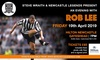 An Evening with Rob Lee