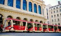 Tour en tram pour un enfant, un adulte ou une famille composée de 4 personnes dès 3 € avec Lyon City tram
