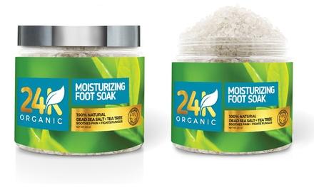 Dead Sea Salt Moisturizing Foot Soak (20 Oz.)