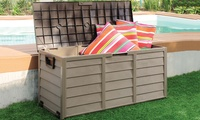 Garden Storage Box in Green or Mocha With Free Delivery