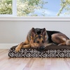 Plush Kilim Patterned Orthopedic Dog Bed