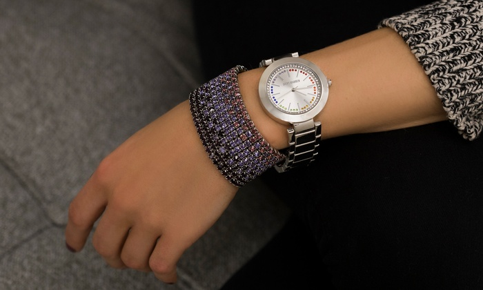 22677ba98e9 Up To 67% Off on Fashion Watch & Bracelet | Groupon Goods