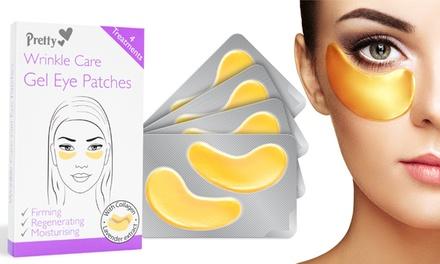 Jusqu'à 4 patchs pour les yeux à l'acide hyaluronique