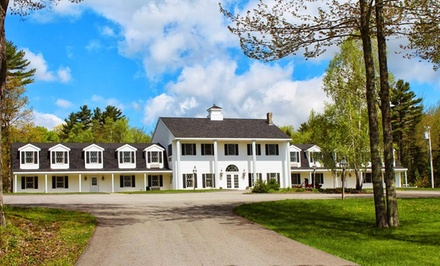 groupon daily deal - 1 Night for Two in a Double-Twin, Double, or Queen Room at Black Horse Inn in Lincolnville, ME. Combine Up to 2 Nights.