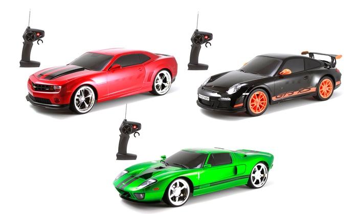 Porsche Gtrs Chevrolet Camaro Or Ford Gt  Scale Rc Car