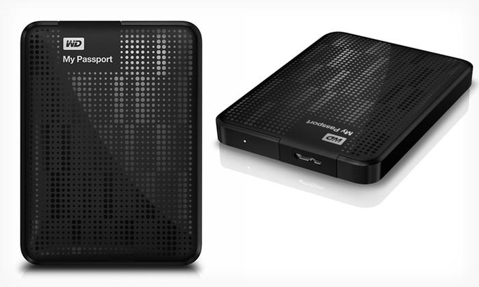 Western Digital My Passport 1.5TB Portable Hard Drive (WDBY8L0015BBK): $84.99 for a 1.5TB USB 3.0 Portable Hard Drive (Manufacturer Refurbished) ($150.76 List Price). Free Shipping & Returns.