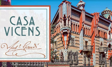 Visita a la Casa Vicens Gaudí por 12 €