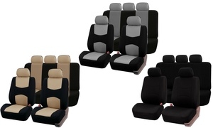 Universal Multifunctional Car Seat Cover Set (10-Piece)