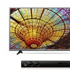 LG 4K TV and Sound System Bundles (New/Refurb.)