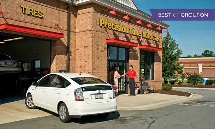 Precision Tune Auto Care - Precision Tune Auto Care: $49 for a Synthetic Oil Change Package at Precision Tune Auto Care ($89.90 Value)