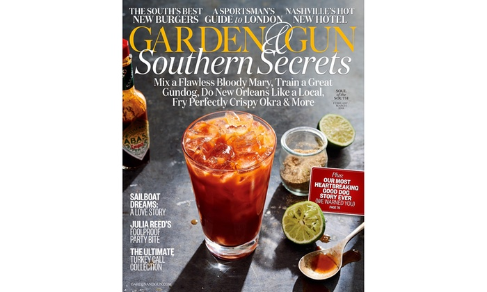 up to 72 off subscription to garden and gun magazine - Garden And Gun Magazine