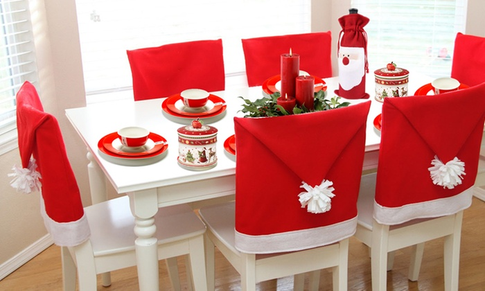 Coprisedie babbo natale sweetangelgifts - Coprisedia natalizi ...