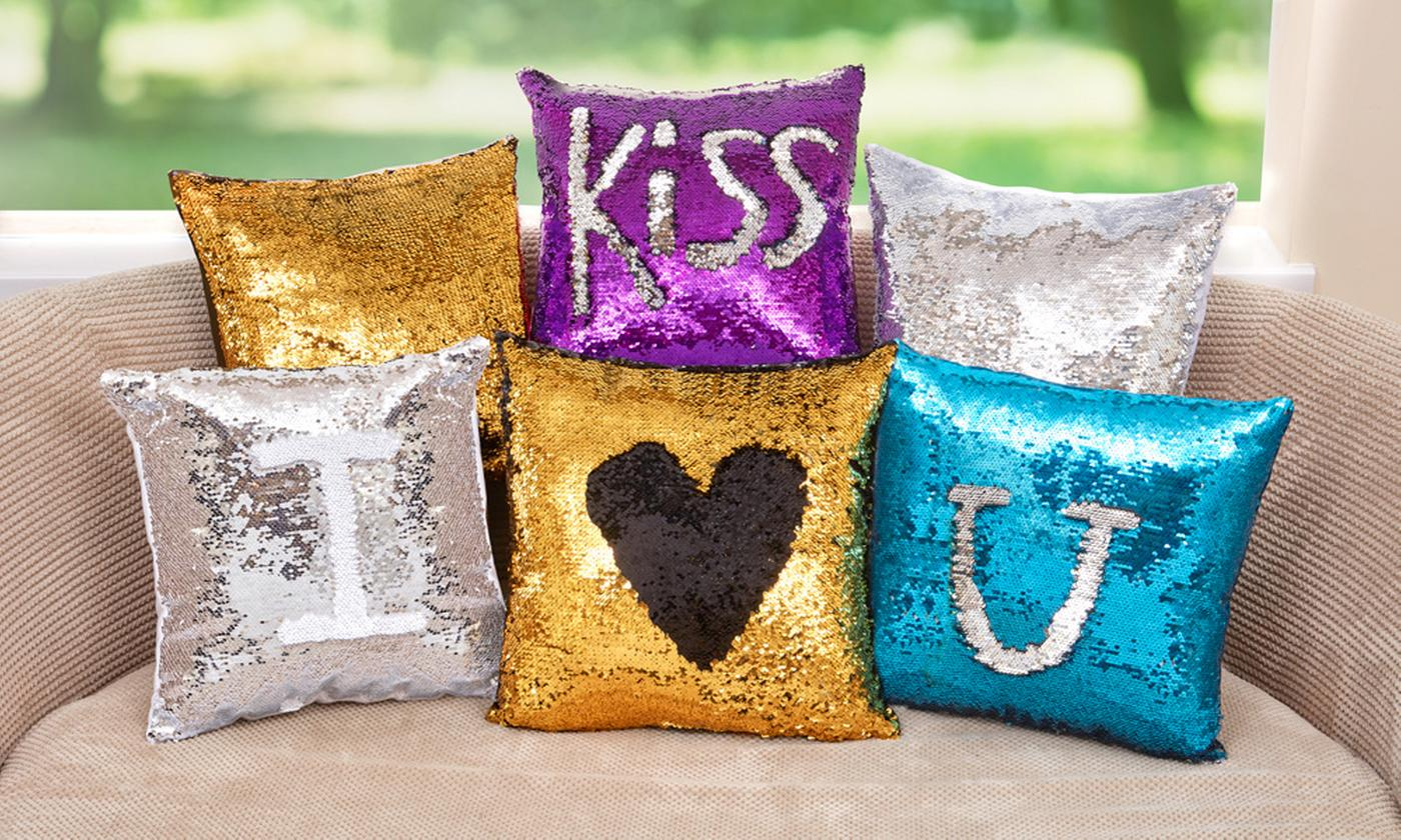 Square Magic Sequin Cushion