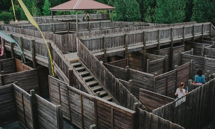 FullDay Access to Attractions: Child Aged 417 $9 or Adult $11 at Yallingup Maze Up to $16 Value
