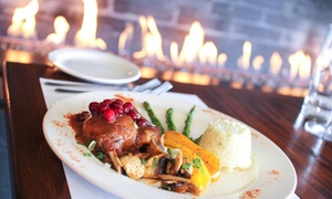 Le Grand Café: 4-Course Gourmet Meal for Two or Four at Le Grand Café Restaurant in Québec (Up to 55% Off)