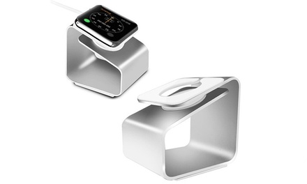 Non Adjustable Aluminium Holder for Apple Watch in Choice of Colour: One ($12) or Two ($15)