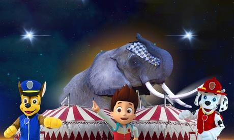 Entrada al Gran Circo Holiday en Valladolid del 22 al 25 de septiembre desde 8,40 €