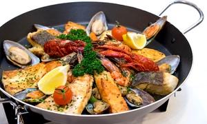 Restaurant Schifferklause: Fischpfanne Atlantis für 2 Gäste im Restaurant Schifferklause für 39 € (34% sparen*)