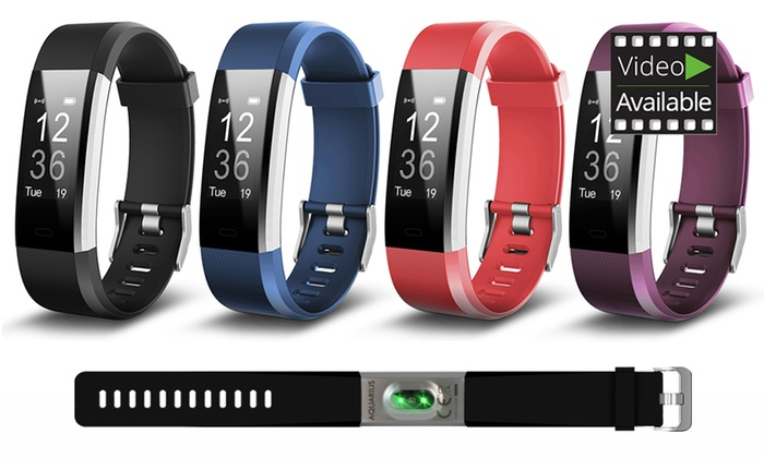 Aquarius AQ125 Touch Screen Fitness Tracker with HRM in Choice of Colour From £24.98