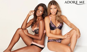 Up to 50% Off Lingerie, Swimwear & Activewear   at Adore Me, plus 6.0% Cash Back from Ebates.