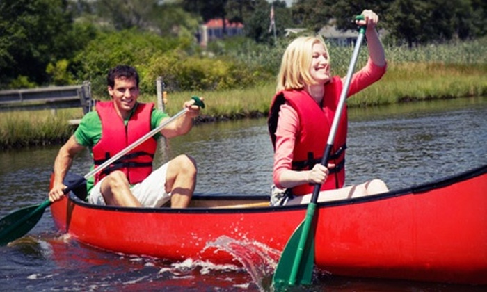 Canoe the Caney - Santa's Toy Boat Workshop A.K.A. Canoe the Caney: Canoe Trip for Two or Kayak Trip for One or Two from Canoe the Caney (50% Off)