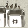 Houzer Eston Series Undermount 9-in Deep Stainless Steel Kitchen Sinks