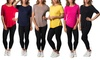 Women's Assorted Stretch Tees (6-Pack)