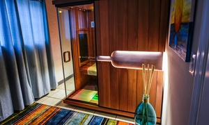 Sol Sweat: Infrared Sauna Session for One or Two at Sol Sweat (Up to 62% Off)