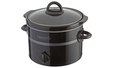 Black Crock-Pot Slow Cooker 2.4 L