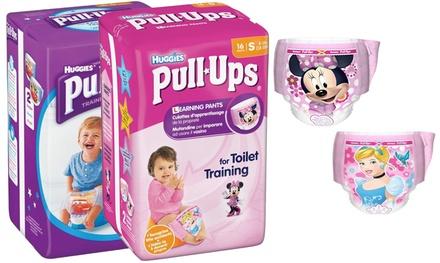 84 o 96 pañales Pull-Up de Huggies de entrenamiento