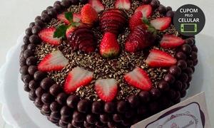 Chocolícia Provocata: Bolo decorado de 2, 4 ou 6 kg com a Chocolícia Provocata –Altos do Itavuvu