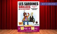 """2 places pour """"Les Sardines Grillées"""" et 2 cocktails du 23 mars au 4 mai 2017 à 32 € aux Théâtre les Chartrons"""