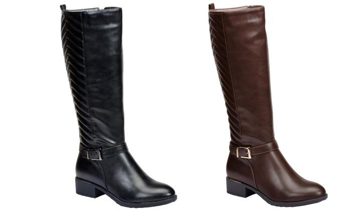 Mata Women's Knee-High Riding Boots